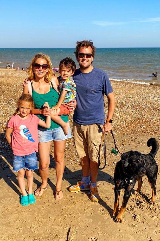 Jasmine Harman and her family.