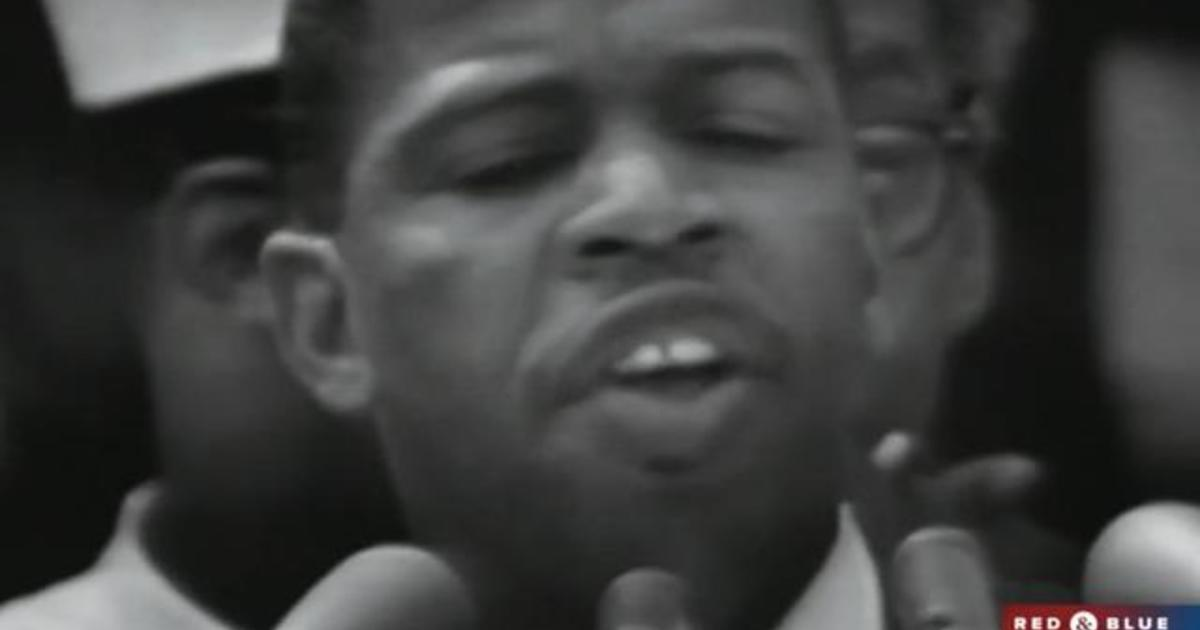 Democratic National Convention pays tribute to John Lewis