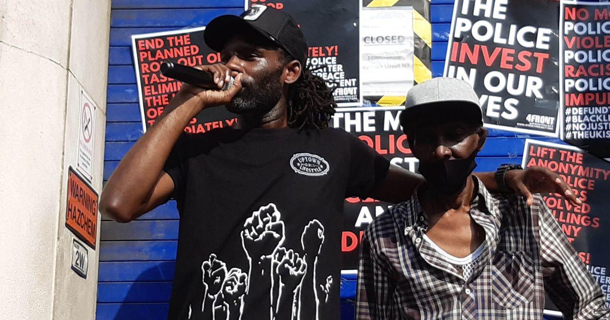 Rapper Wretch 32 speaks out for 'over-policed' black people after dad is tasered
