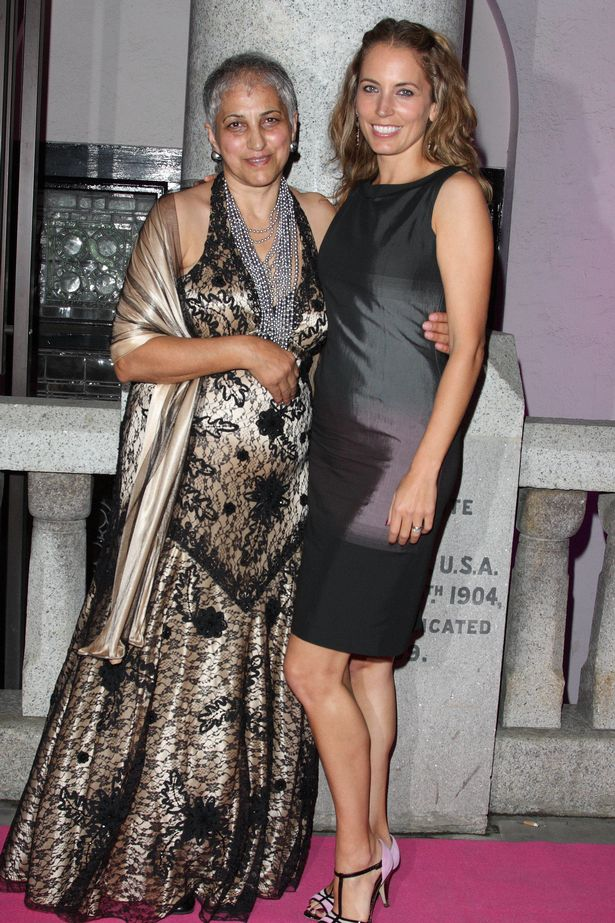Jasmine Harman and Mother at the Inspiration Awards For Women, held at the Cadogan Hall in London. 6th October 2010.