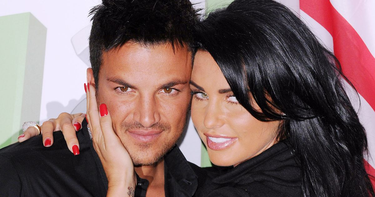 Katie Price's lewd description of first time sex with 'd*ckalicious' Peter Andre