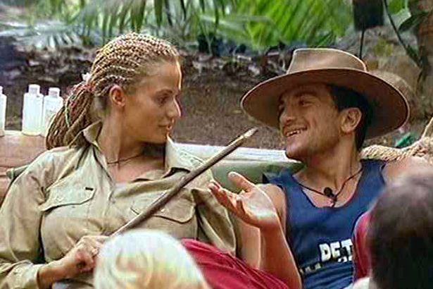 Katie and Peter's jungle chemistry was sizzling