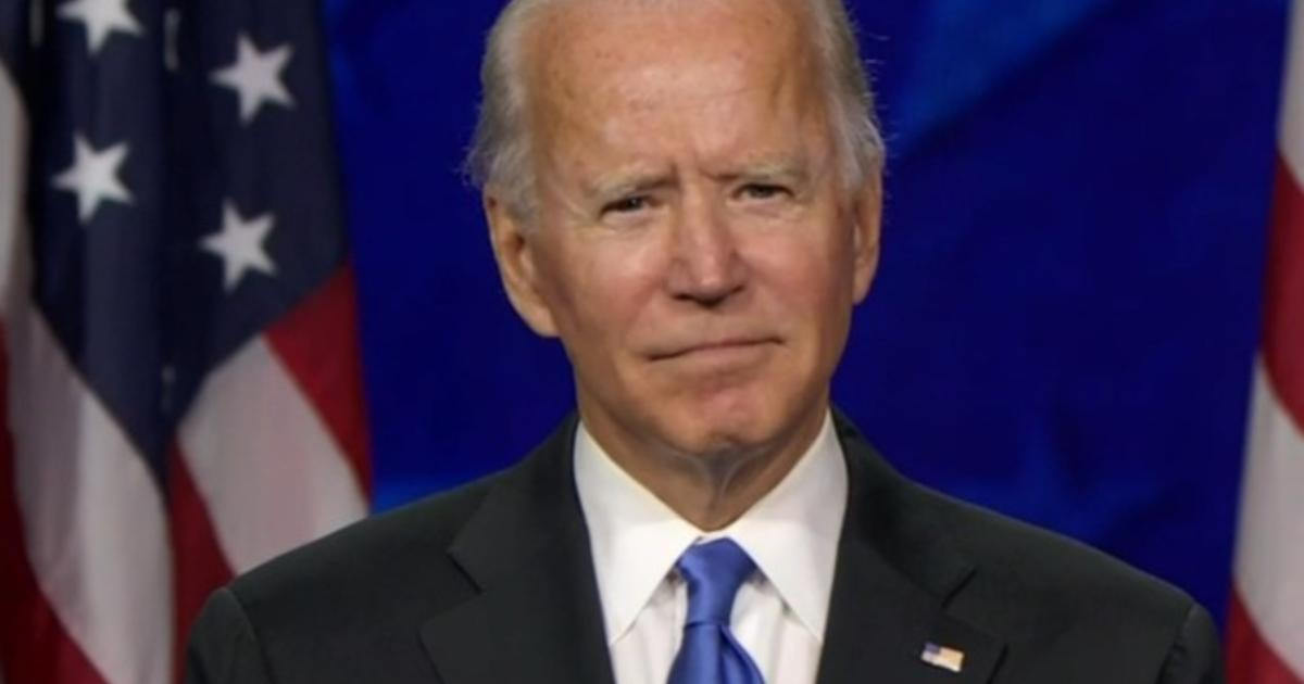 "Biden vows ""this is a battle we win"" in DNC speech"