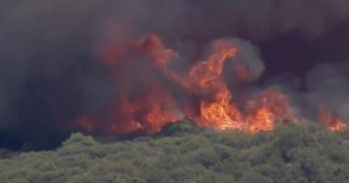 Heatwave fueling wildfires in California, forcing evacuations