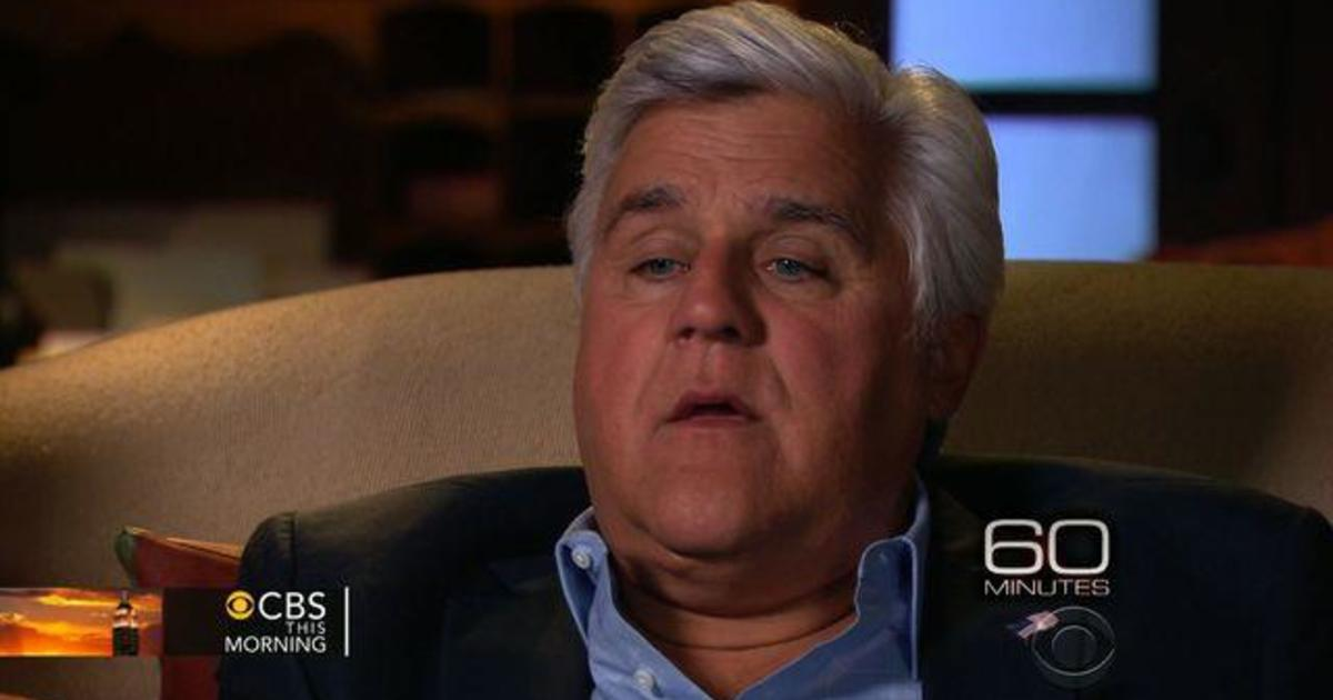 """Jay Leno on transition from """"The Tonight Show"""""""