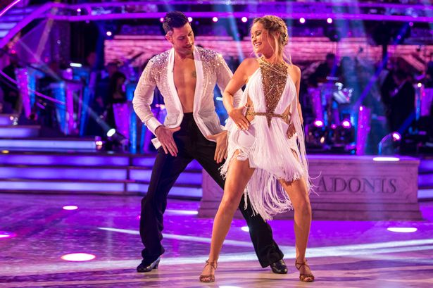 Laura Whitmore partnered with Strictly professional Giovanni Pernice in 2016
