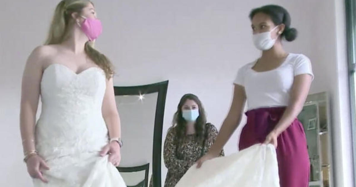 Bridal shop gives free wedding gowns to medical workers