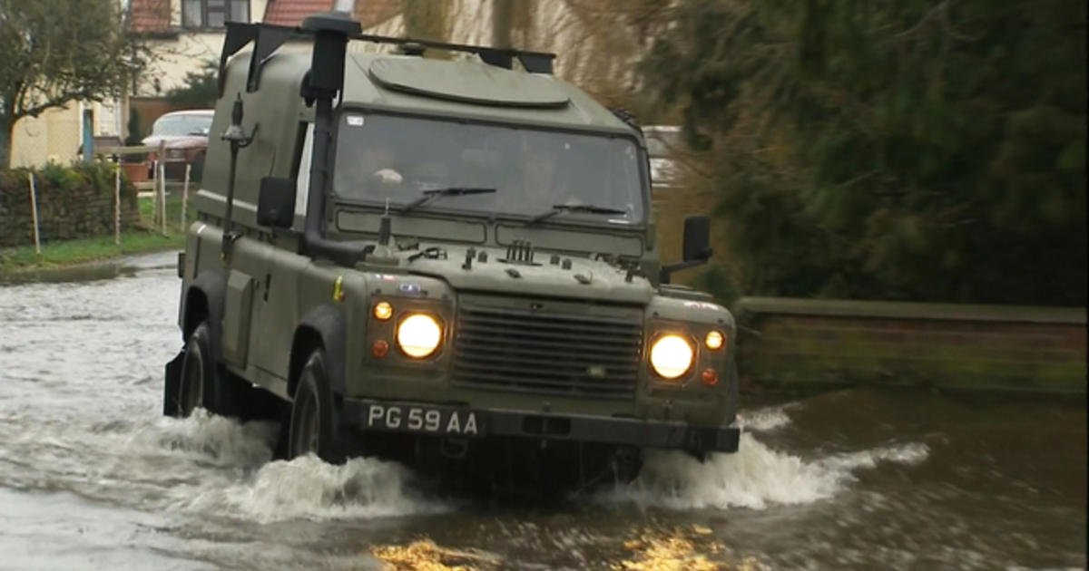 Relentless rain wreaks havoc on southern England