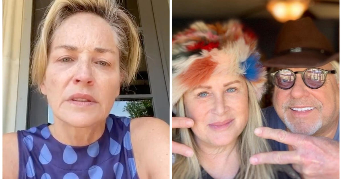Sharon Stone shares sister's battle with COVID-19