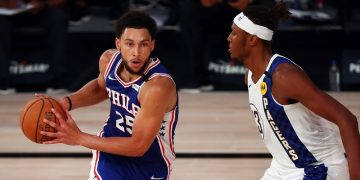 Sixers' Simmons to have surgery on left knee