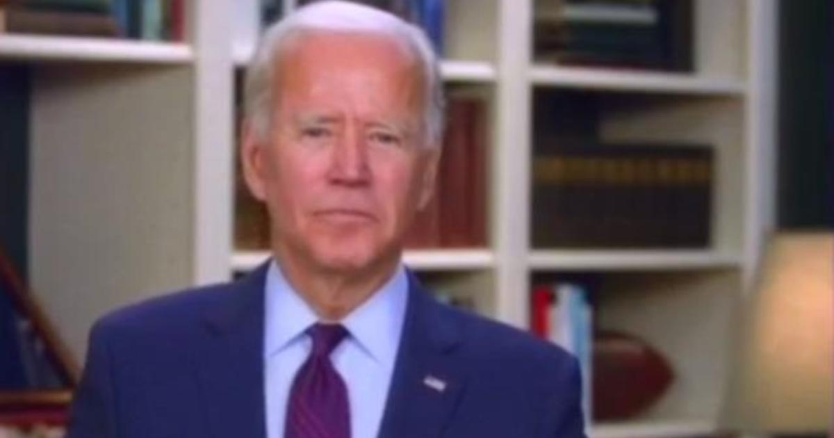 Biden announces shake-up to convention as President Trump mulls moving speech to White House