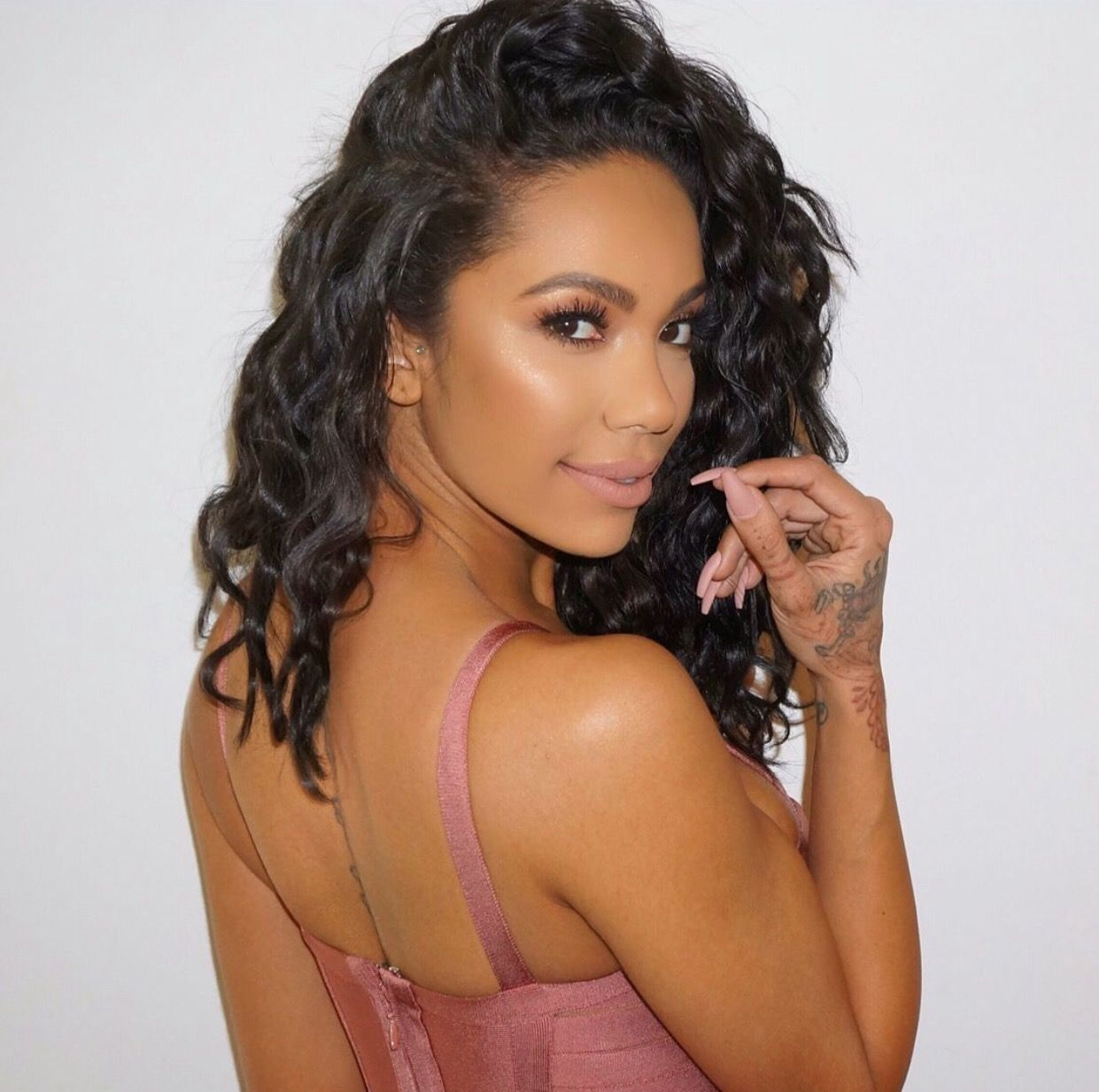 Erica Mena Says She's Inspired By Her Own Life – See Her Cool Outfit