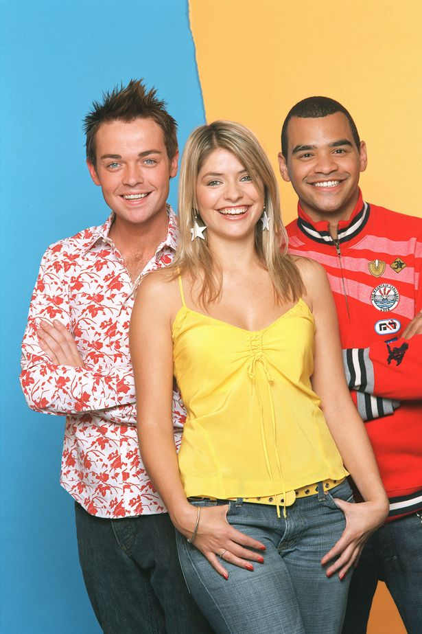 Stephen Mulhern, Holly Willoughby and Michael Underwood brought bundles of fun and mayhem on MoM in 2004