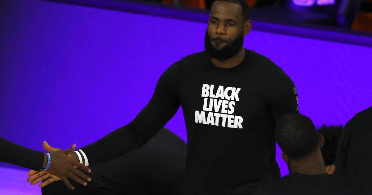 LeBron James responds to Trump's protest criticism