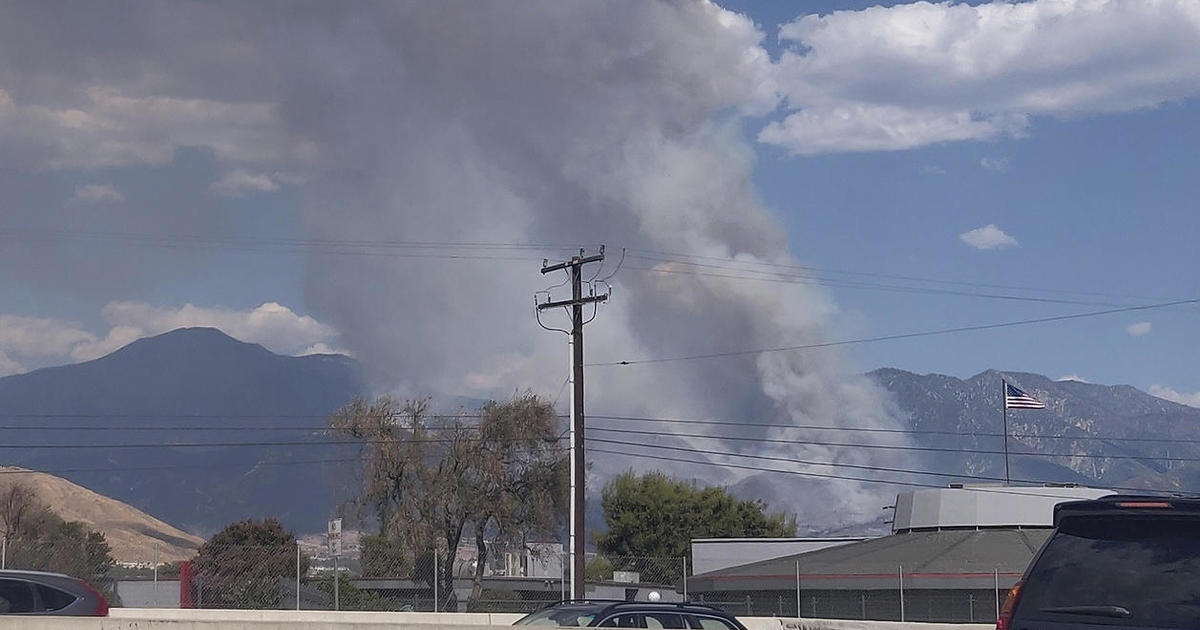 """Gender-reveal """"pyrotechnic"""" blamed for huge California wildfire"""