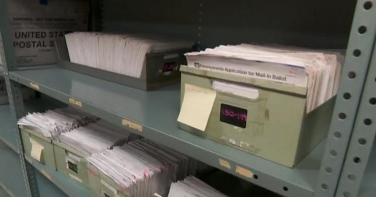 One key county in Pennsylvania braces for huge increase of mail-in ballots