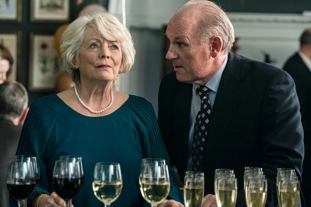 Gail (Alison Steadman) and Henry (Peter Davison) in BBC One series Life
