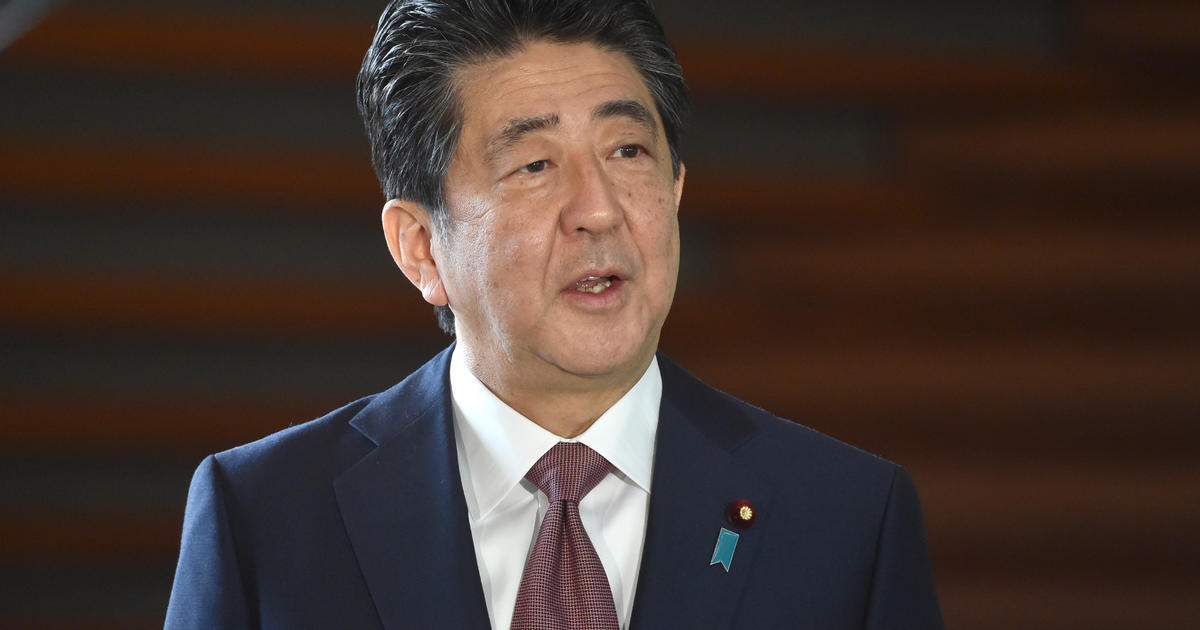 Japanese Prime Minister Shinzo Abe officially resigns