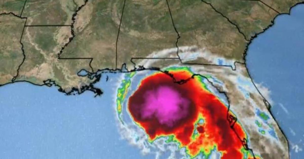 Hurricane Sally strengthens as it barrels toward the Gulf Coast
