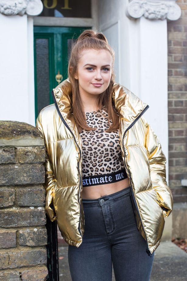 Maisie as Tiffany Butcher in EastEnders