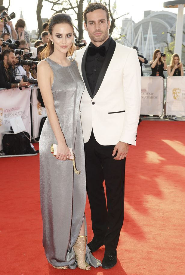 James Dunmore and Lucy Watson attend the House Of Fraser British Academy Television Awards 2016 at the Royal Festival Hall