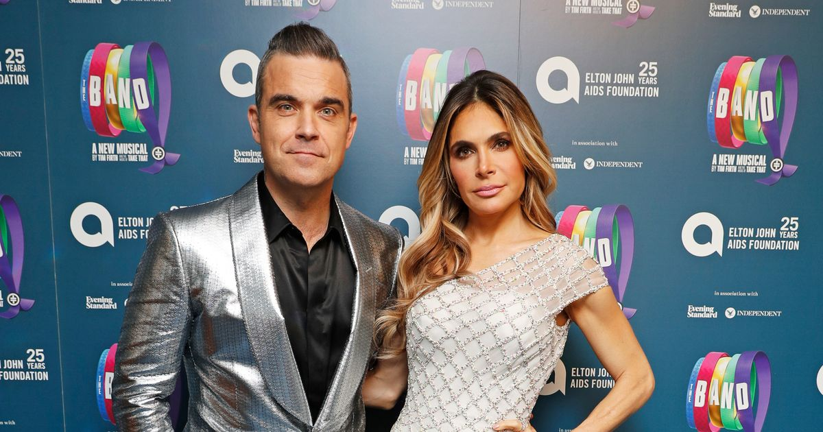 Robbie Williams admits his wife Ayda's 'graphic' wife duty to wax his hairy bum