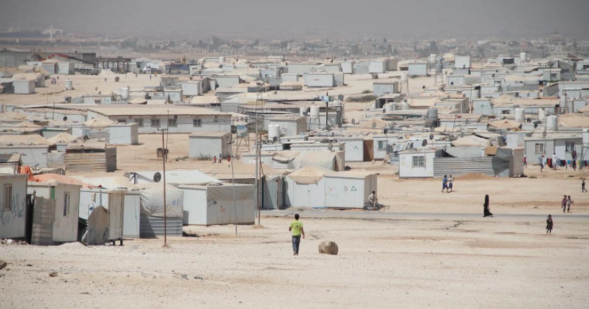 COVID creeps into a sprawling Syrian refugee camp in Jordan