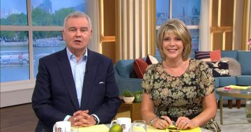 Eamonn Holmes and Ruth Langsford 'fear they will be axed from This Morning'