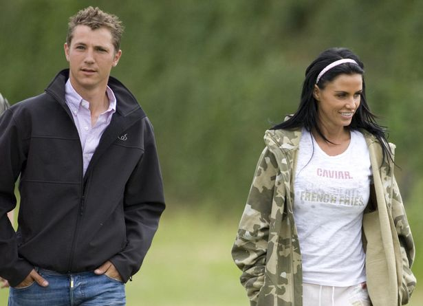 Katie and her dressage trainer Andrew Gould both denied rumours of an affair