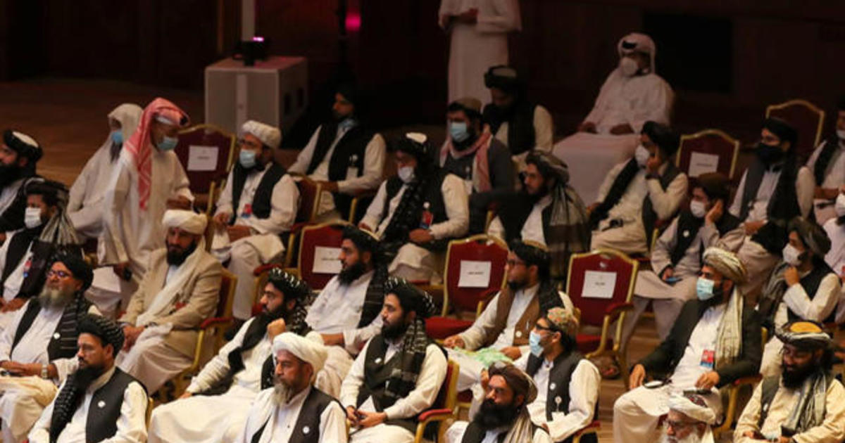 Afghan and Taliban leaders hold first direct meeting as historic peace talks get underway
