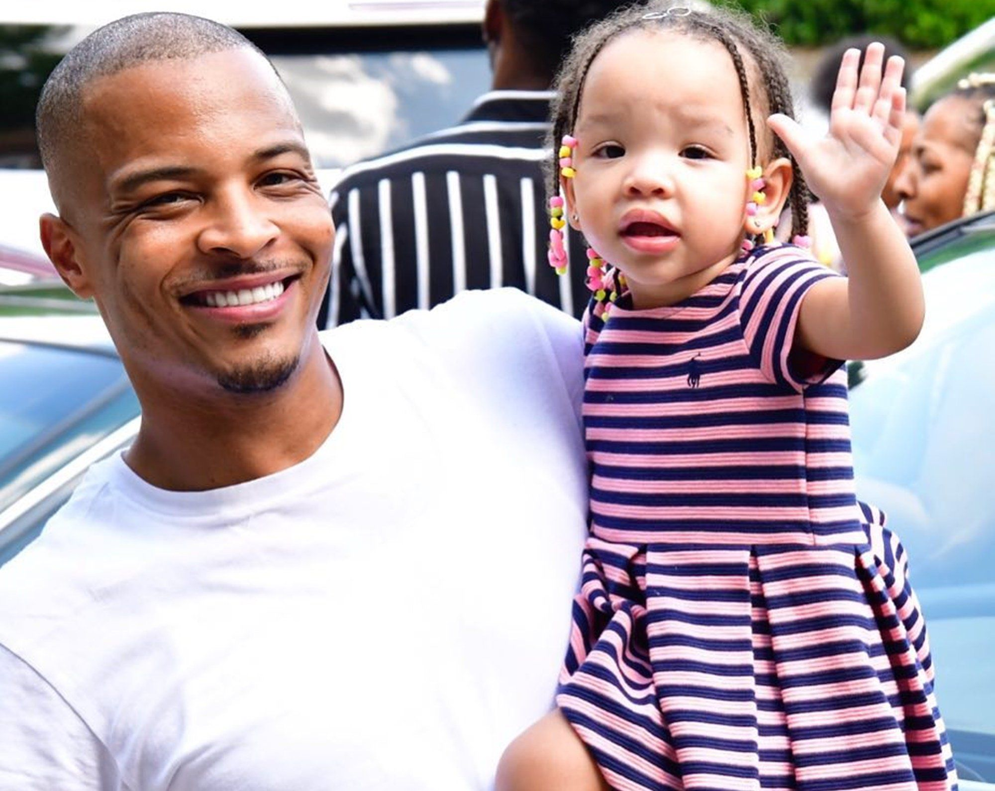 T.I. Proudly Poses With His Daughter, Heiress Harris