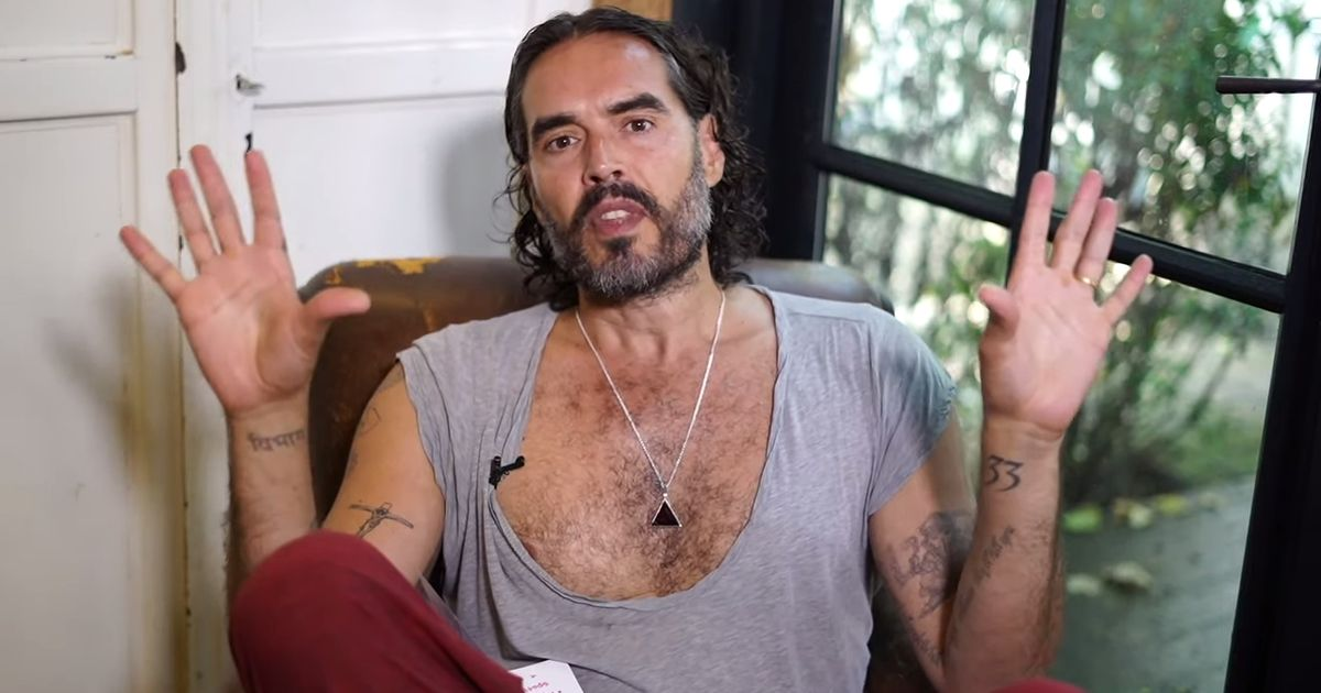 Russell Brand 'flouts lockdown rules at show after Rule of Six introduced'