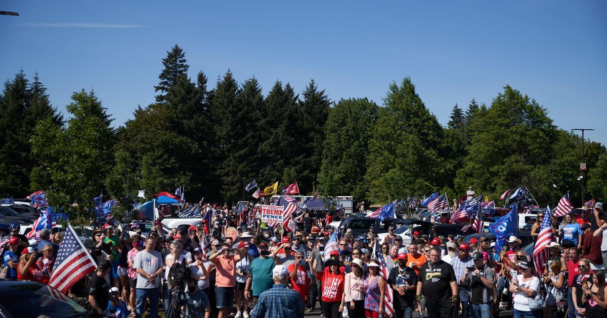 2 pro-Trump cruise rallies held in Portland