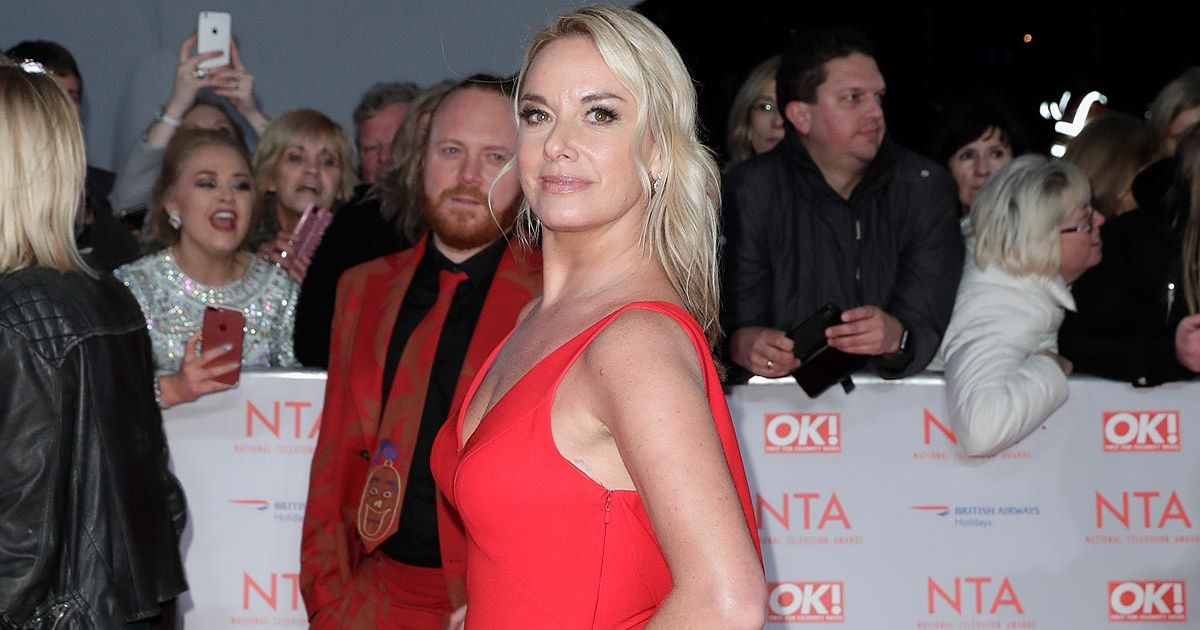 Tamzin Outhwaite claims Strictly's Bruno banned her close-ups because of acne