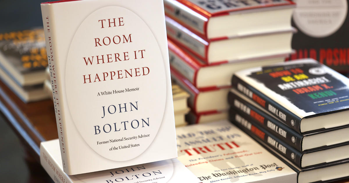 Justice Department investigating publication of Bolton's tell-all book
