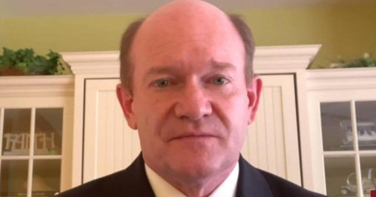Senator Chris Coons on COVID-19 relief legislation and foreign interference in 2020 election