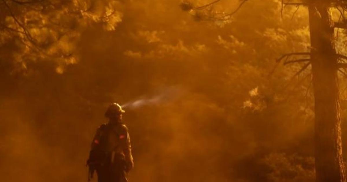 Wildfire smoke puts firefighters at heightened risk from coronavirus