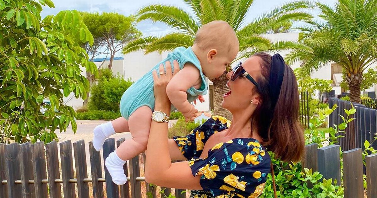 Inside Lucy Mecklenburgh's heartwarming first family getaway with baby Roman