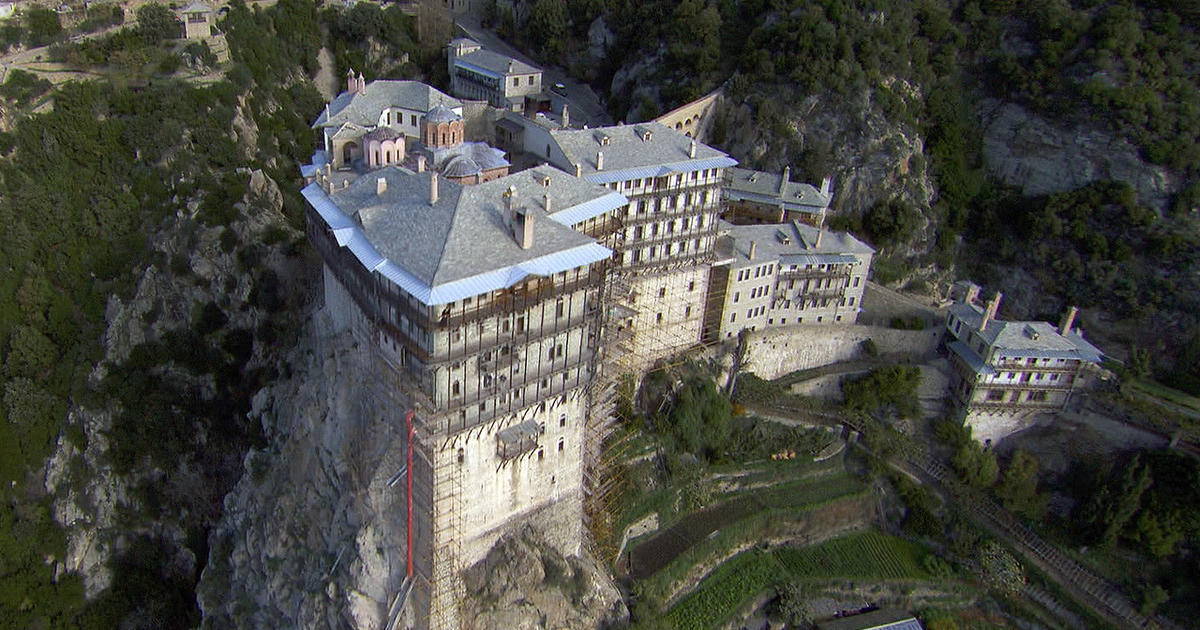 From the archives: Bob Simon visits Mt. Athos