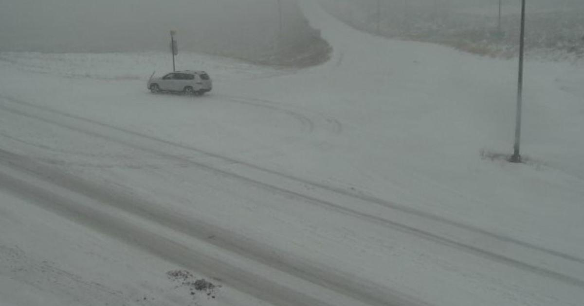 Early winter storm hits Colorado after record heat wave