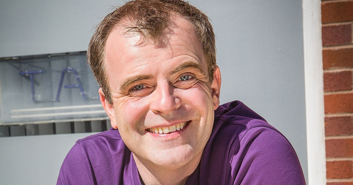 Corrie's Simon Gregson once pooed on a helter skelter in chaotic scenes