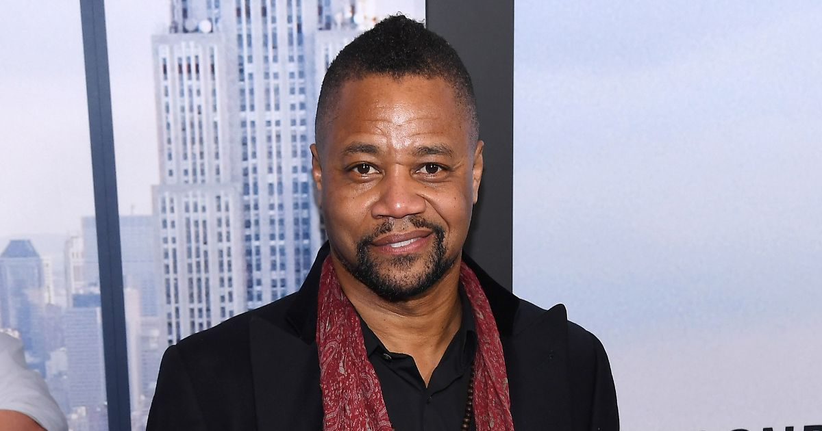 Cuba Gooding Jr saves man who 'inadvertently set himself on fire'