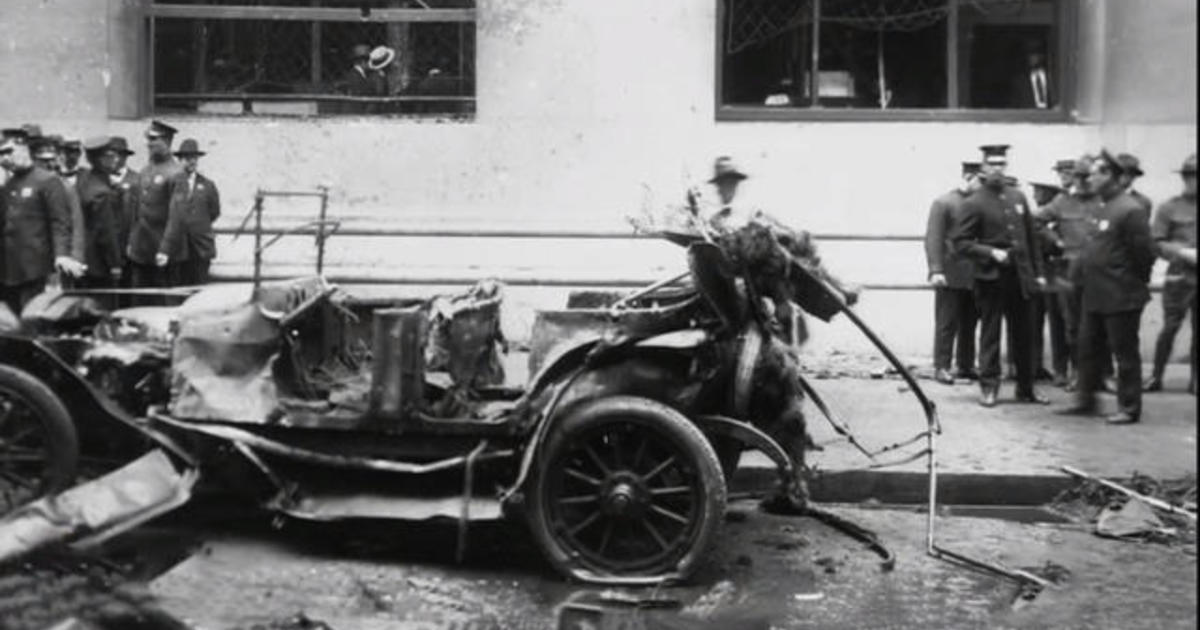 Wall Street bombing: Looking back at the infamous terror attack 100 years later