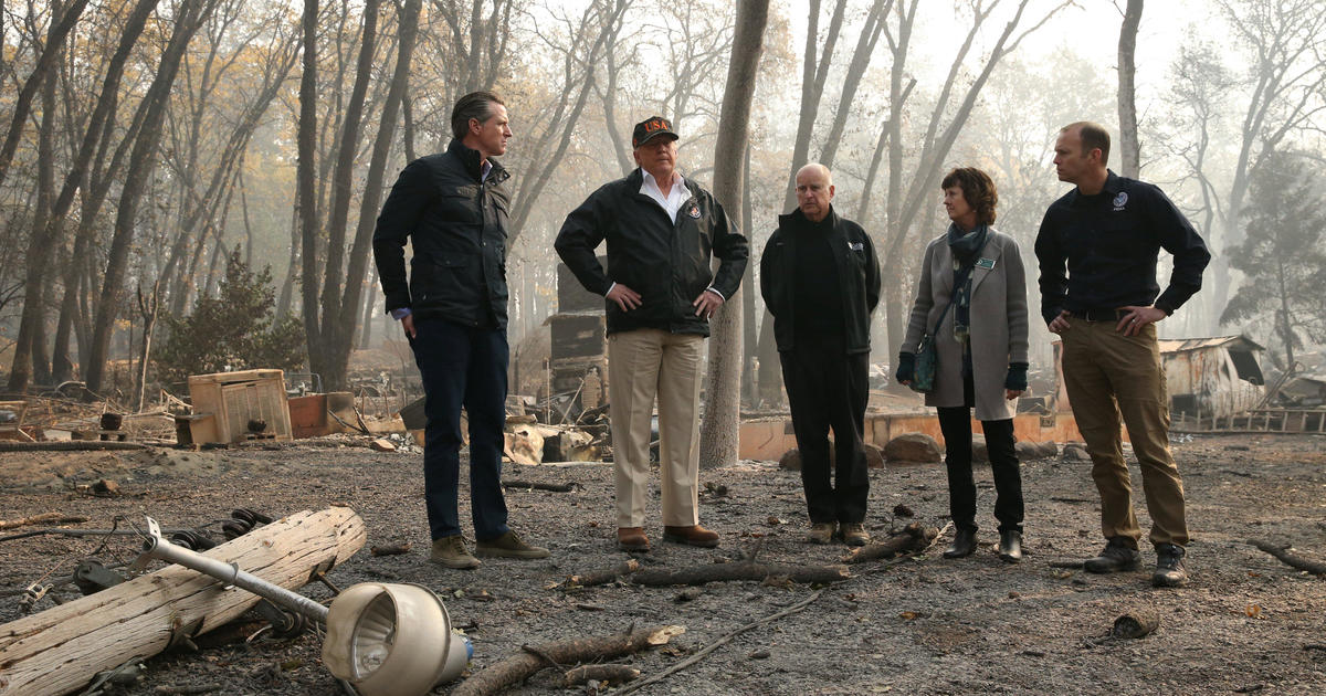 Trump in another war of words over wildfires with Calif. governor