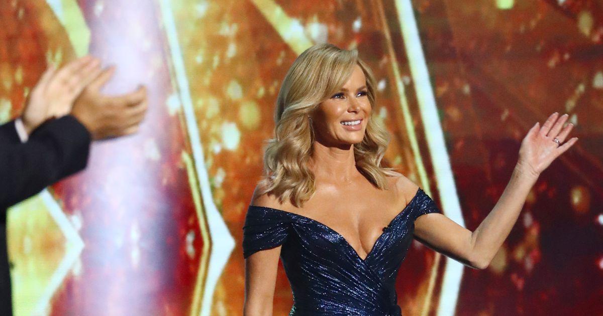Amanda Holden's sexiest Britain's Got Talent dresses ever
