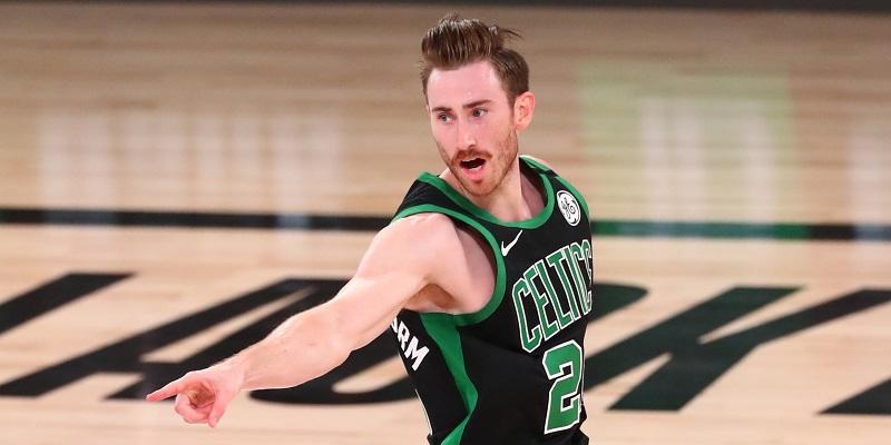 Celtics F Gordon Hayward returning to bubble but not ready to play