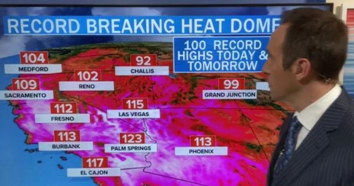 Heat wave bakes the West as region faces record-breaking temperatures