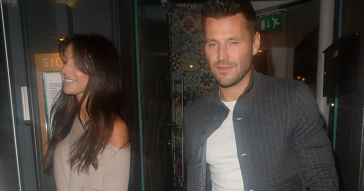 Michelle Keegan looks effortlessly elegant on rare date night with Mark Wright