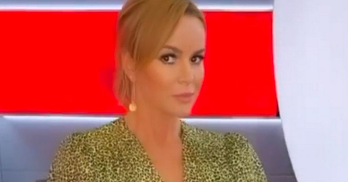Amanda Holden 'channels Sharon Stone' in 'close call' Basic Instinct moment