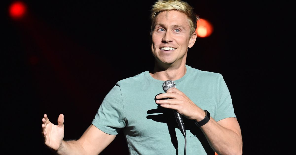 Russell Howard speaks out about 'storming off stage' over filming controversy